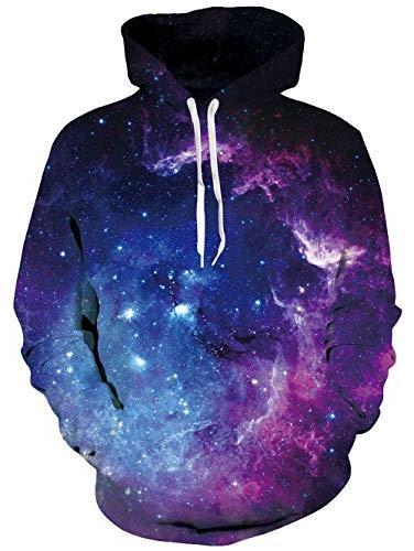 men women 3d printed space galaxy nebula