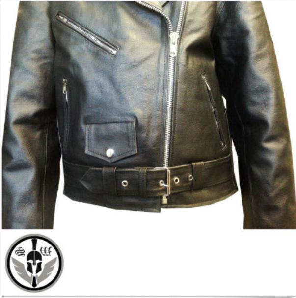 Motorcycle Brando Leather Biker