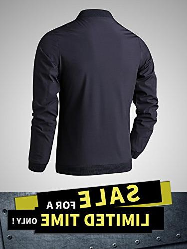 LTIFONE Mens Zip Flight Sportswear Softshell with