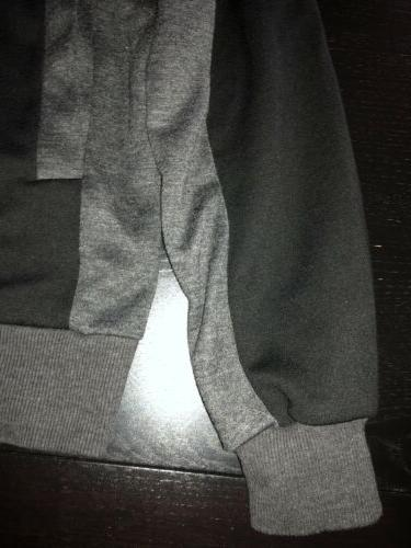 H2H CASUAL FIT HOODIE ZIPPER SMALL