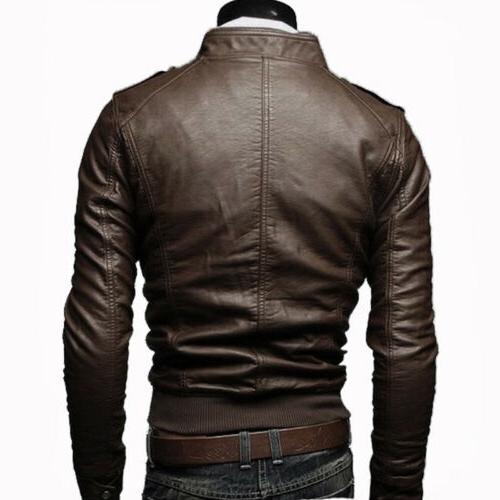 Mens Leather Winter Outwear