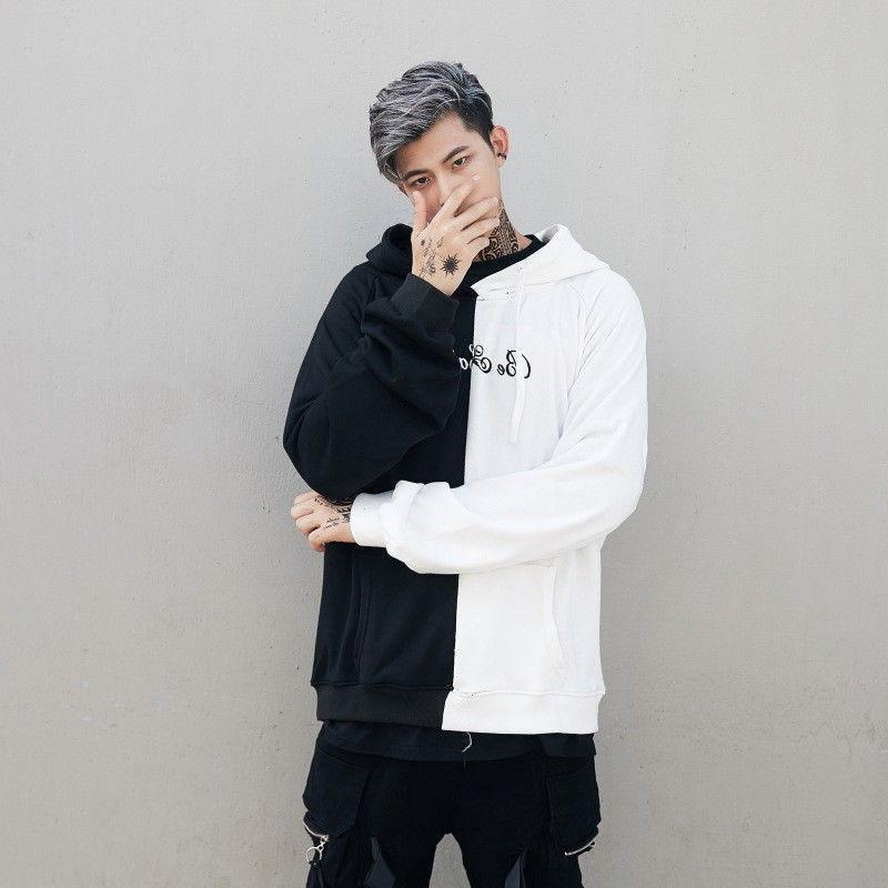 Mens Face Fashion Sweatshirt Jacket