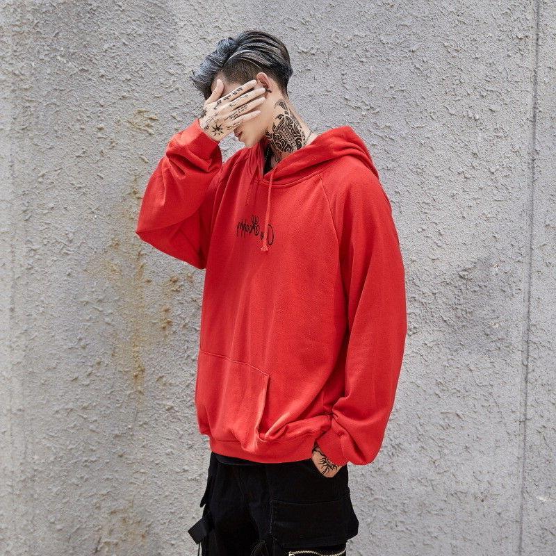 Mens Face Sweatshirt Pullover