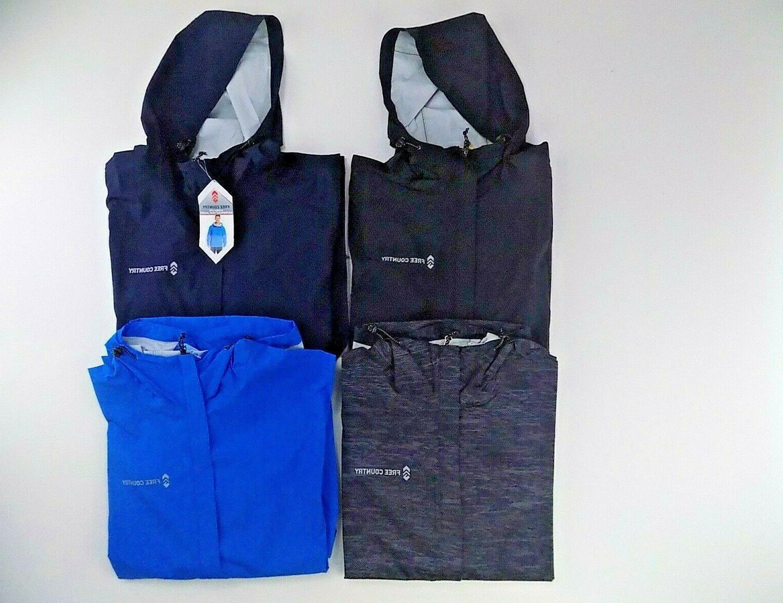 mens hydro lite hooded waterproof rain jacket