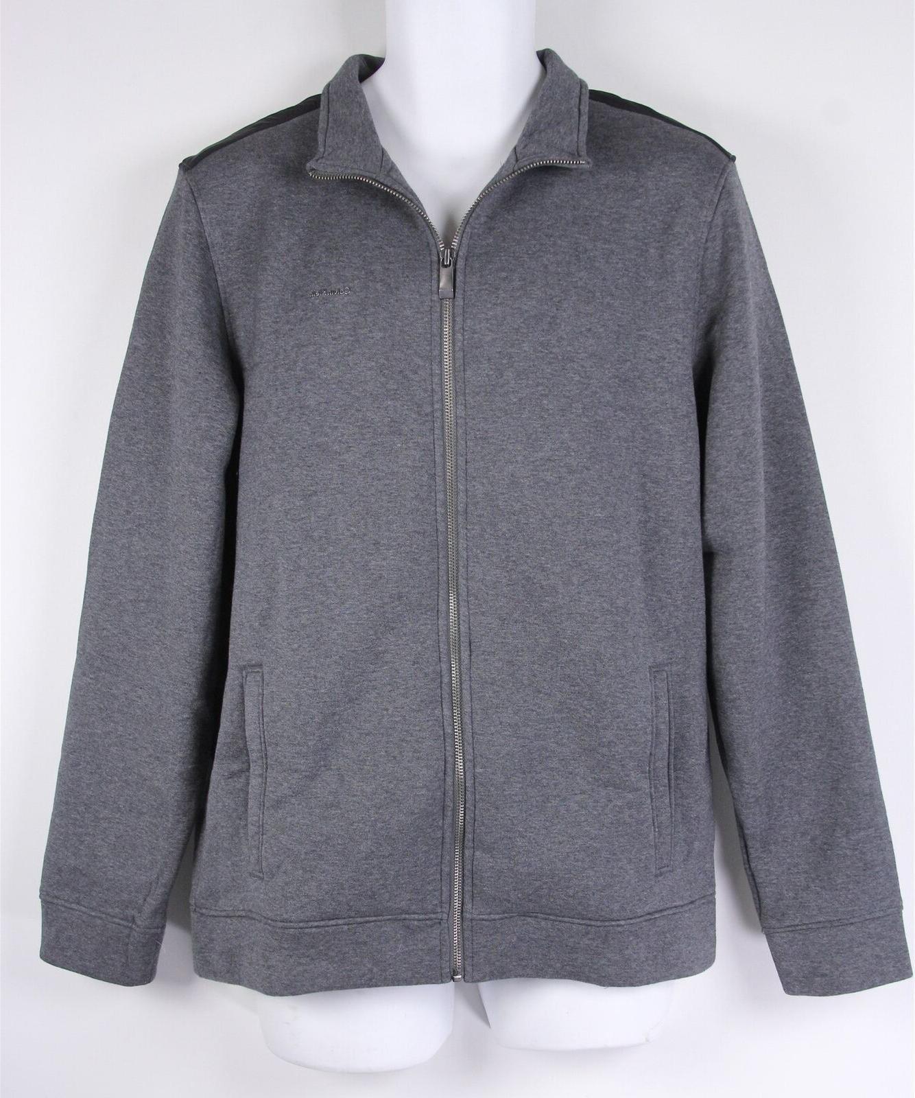 mens jacket m medium gray grey new