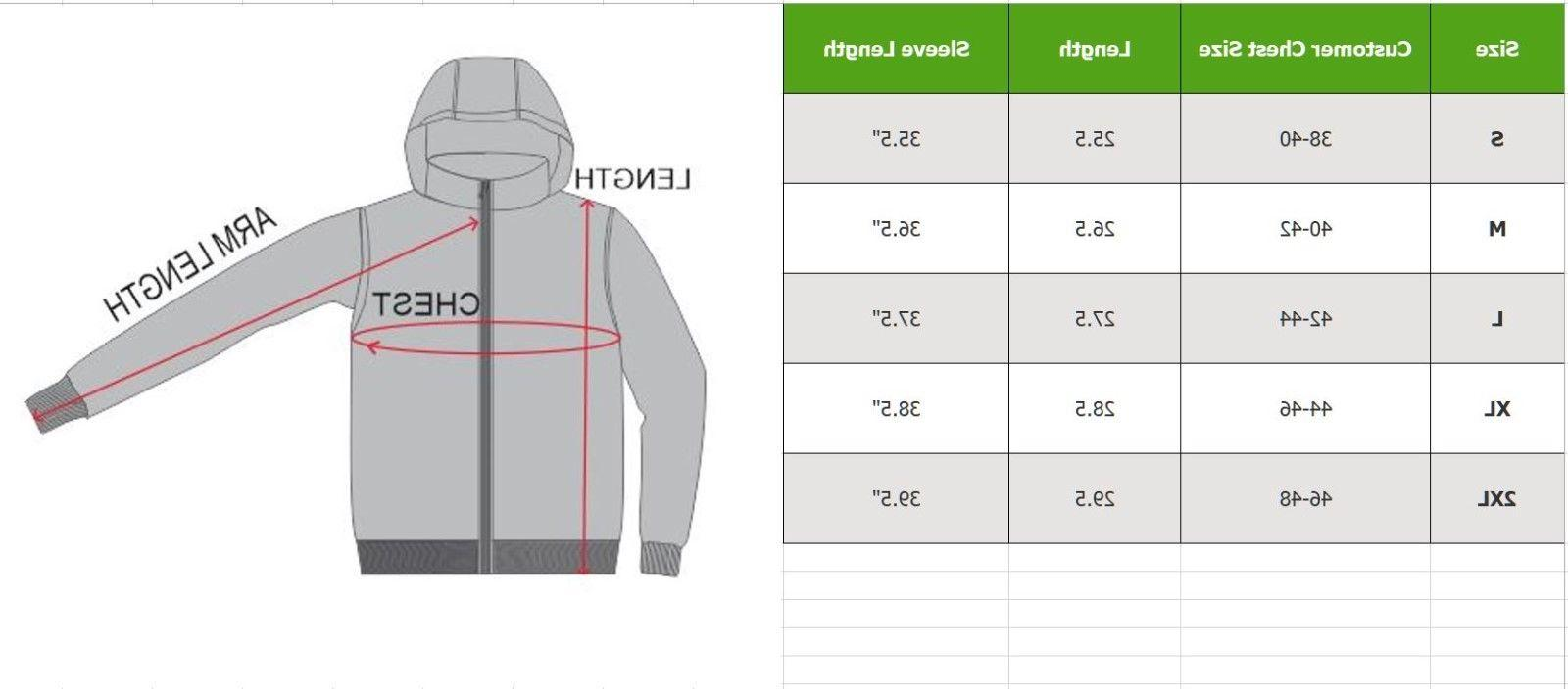 Mens Jackets Waterproof Coat