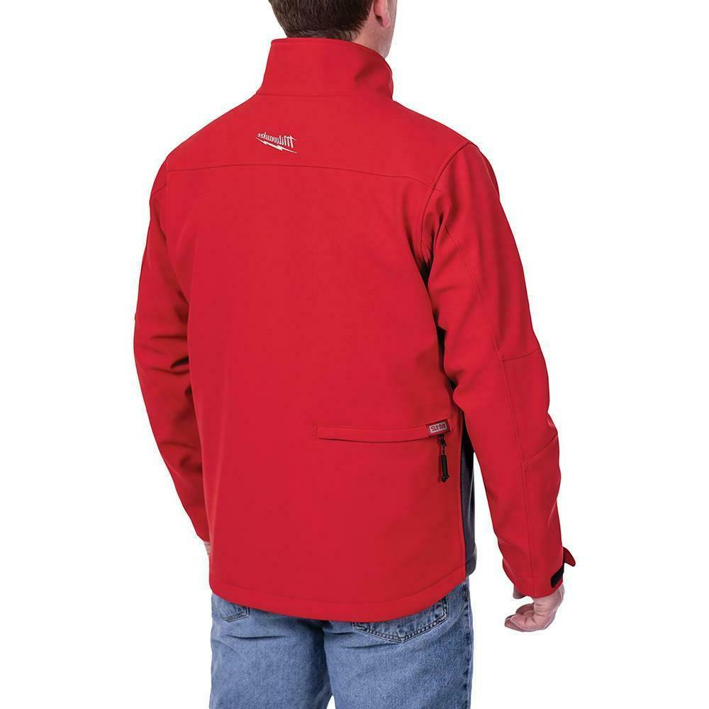 MILWAUKEE Heated Jacket TOUGHSHELL, Red