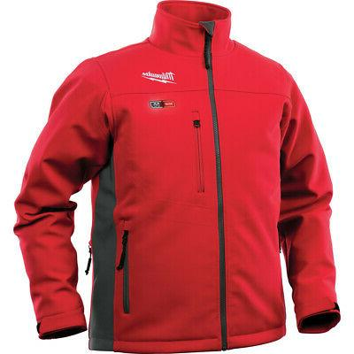 mens m12 cordless heated jacket toughshell large