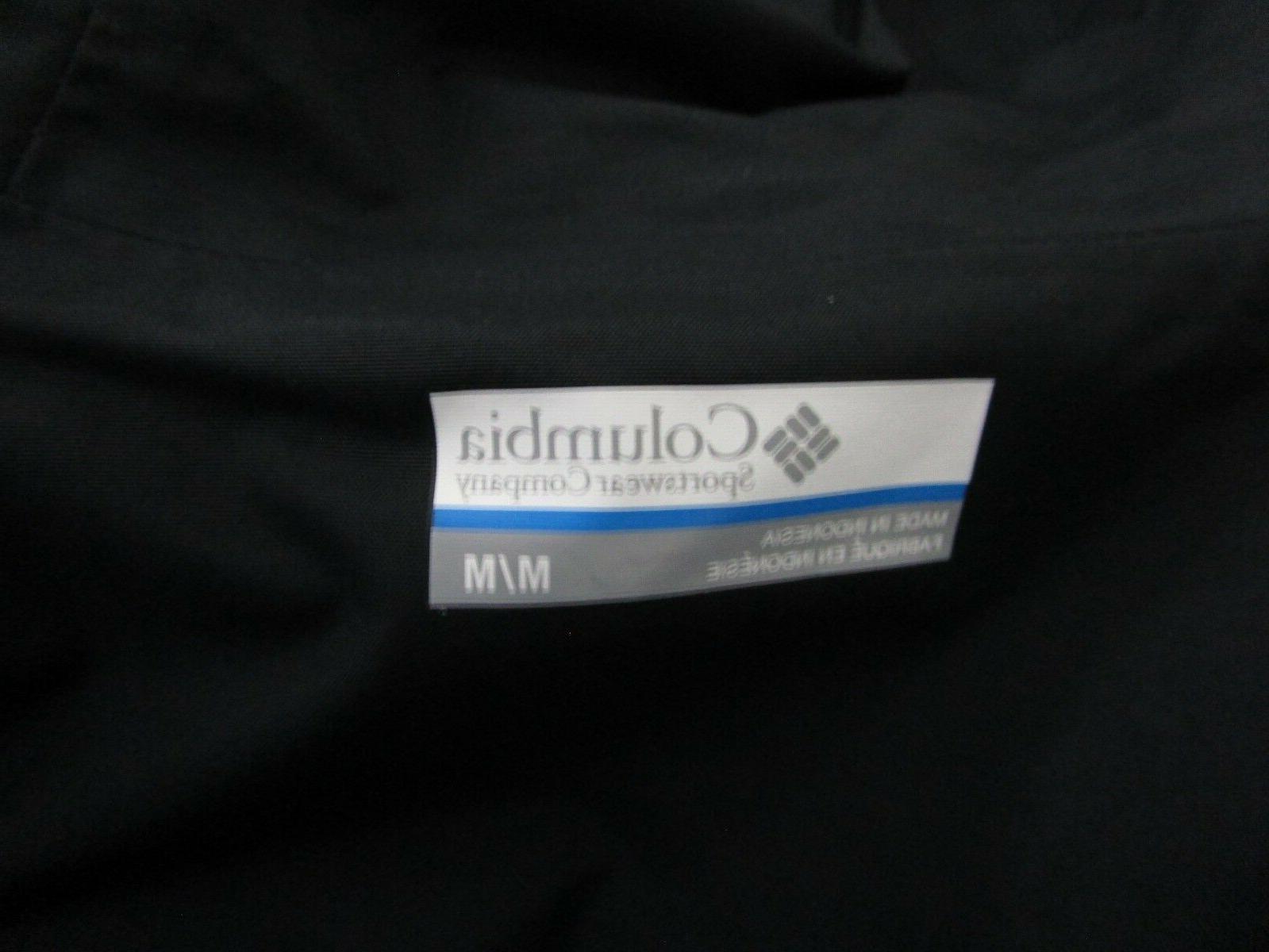 Mens Hooded Hybrid Waterproof Rain Jacket NWT