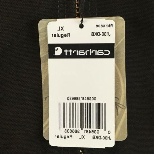 Carhartt Quilted Lined Sandstone J130 Brown XL