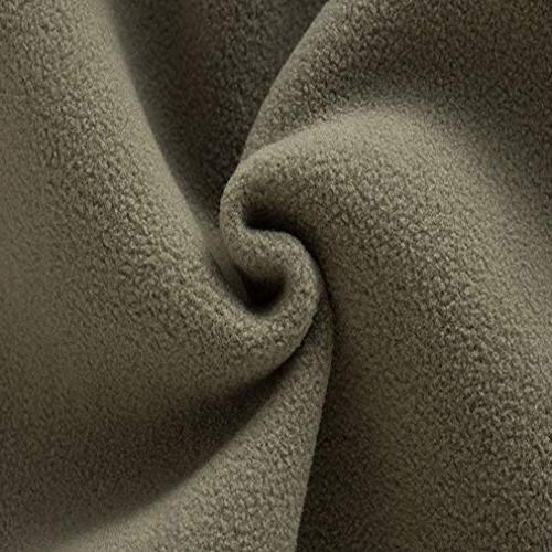 EBRICKON Mens Soft Sleeveless Front Zipper