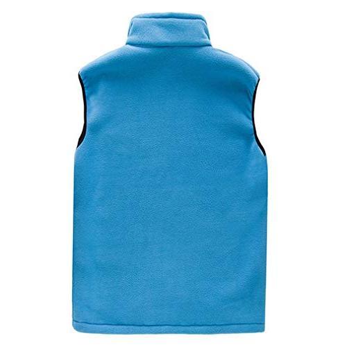 EBRICKON Mens Soft Lightweight Sleeveless Vest Zipper Coat Pockets