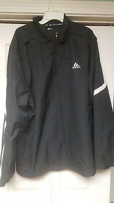 ADIDAS MENS TEAM WOVEN JACKET SIZE  MED.