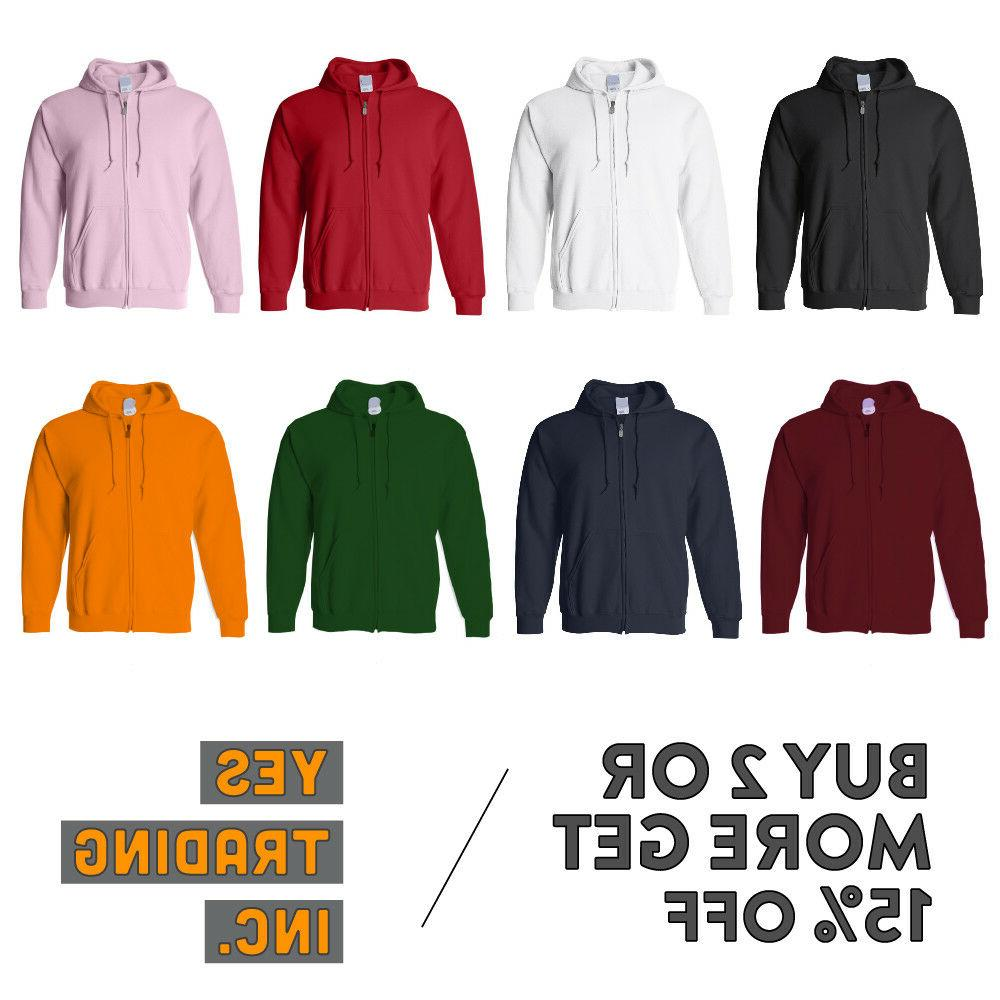 mens womens casual zip up hoodie jacket