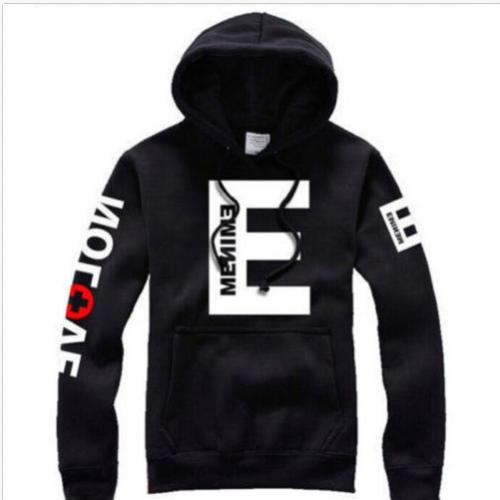 Mens Womens Eminem Hop Fleece Hoody