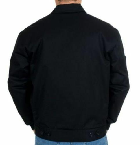 Style Zip Jacket Black Work Wear New