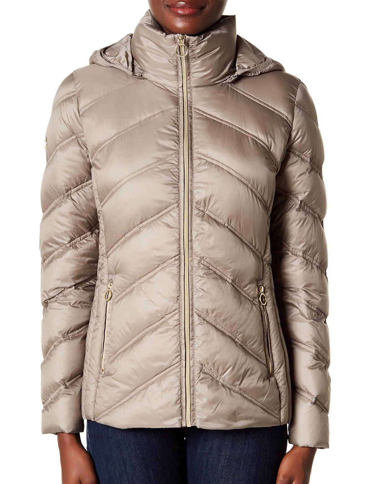 MICHAEL Down Jacket Taupe