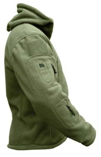 Military Man Softshell Polartec hoodie, A Velvet