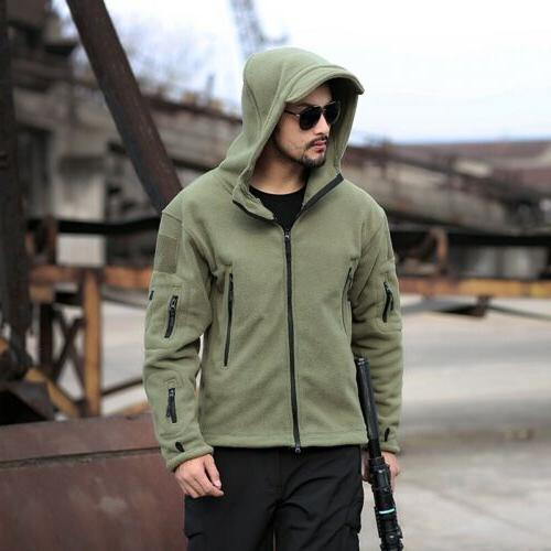 Military Man Tactical Softshell Polartec hoodie, A Jacket