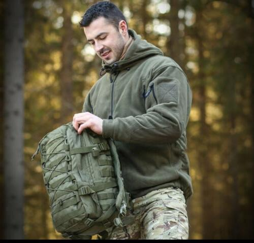 Military Man Fleece Softshell Jacket Polartec hoodie, Velvet
