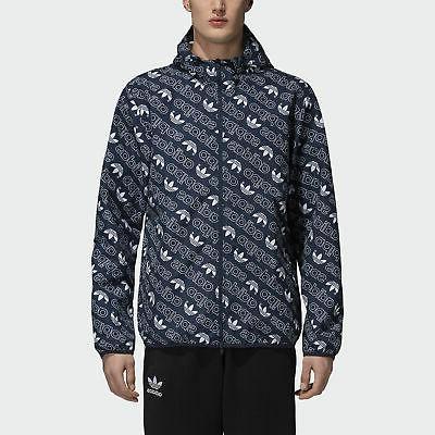 monogram track jacket men s