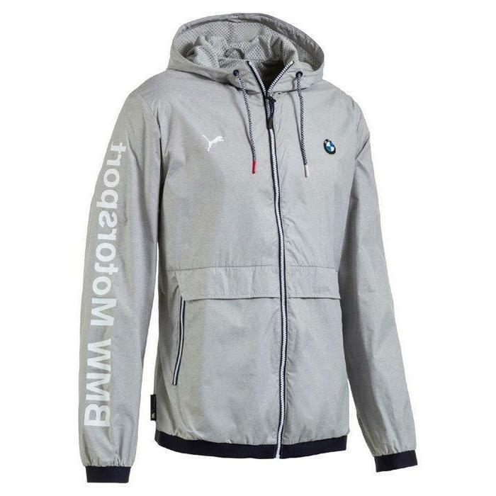 Puma Bmw Motorsport Men's Premium MSP Lightweight Jacket Hea
