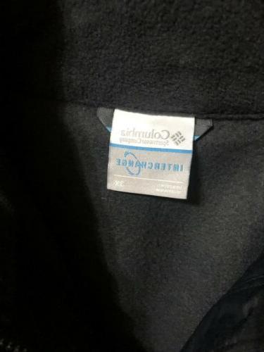 NEW 3 1 Interchange Waterproof Coat Black NWT