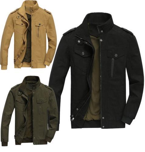 new Spring Men's jackets fashion casual jacket coats collar