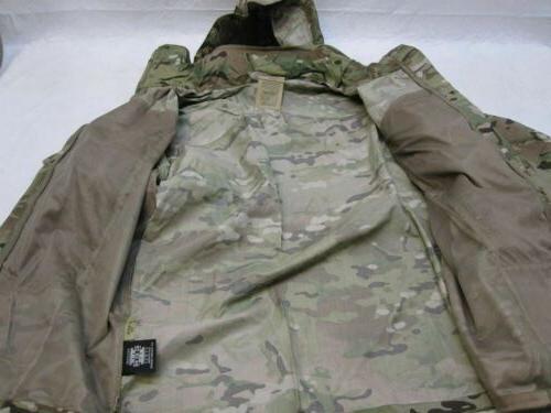 NEW ARMY OCP RAIN JACKET FR SOFT SHELL WEATHER X-LARGE/X-LONG