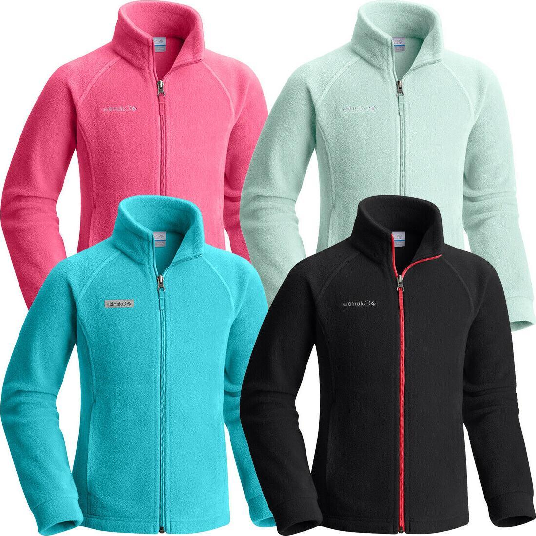 New Columbia Sportswear Ladies/' Benton Springs Fleece Vest Women/'s Outdoors Zip