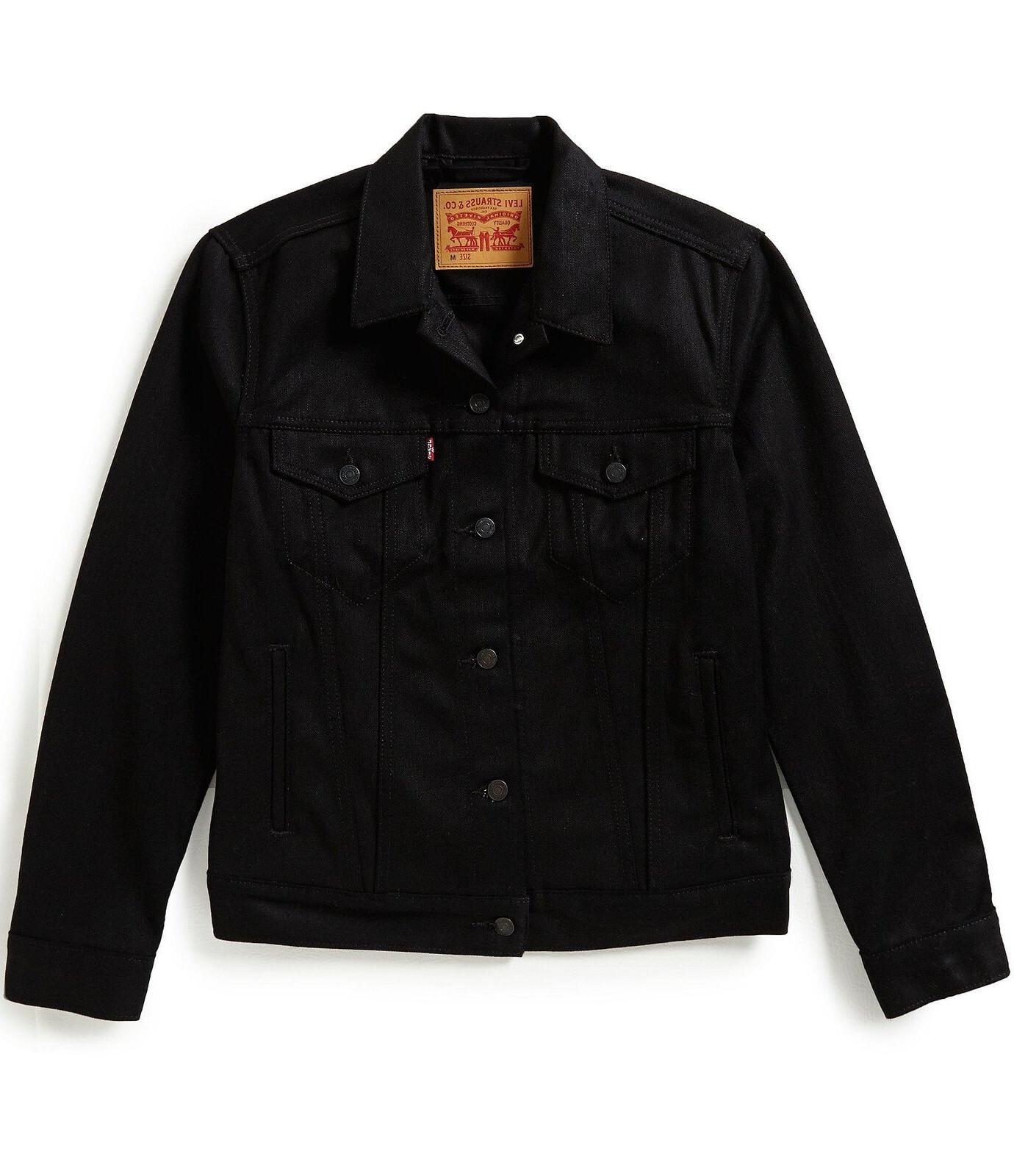New Levi's Trucker Classic -Polished Black