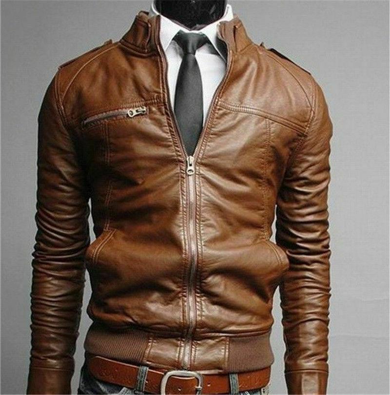 New Men's Collar Slim Jacket