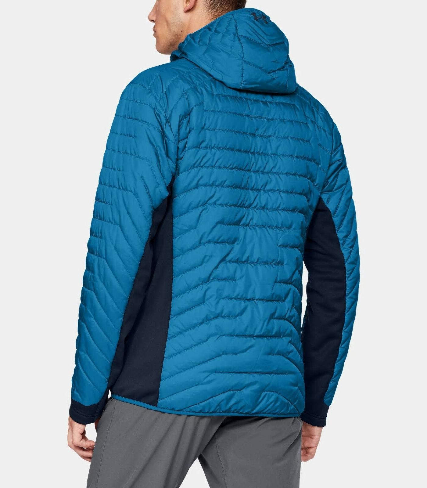 NEW UNDER ARMOUR XL Reactor Hooded Blue