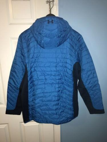 NEW UNDER ARMOUR XL Hooded Blue