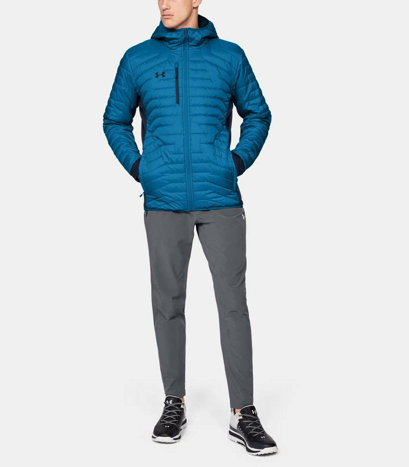 NEW ARMOUR Men's XL ColdGear Hybrid Hooded Insulated