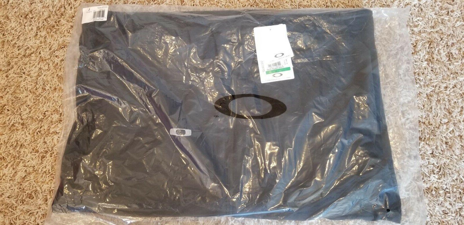 New Mens Oakley Jacket Water Repellent XL