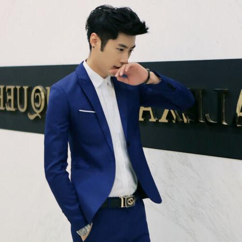 New Casual Fit Suit Blazer Jacket With