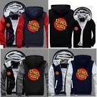 HOT Novelty Mens hoodie thicken fleece Santa Cruz coat Zippe