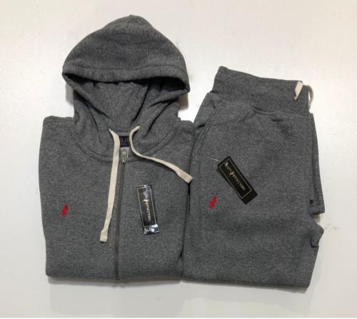 NEW Lauren Sweatsuit Men Zip Pants