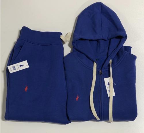 NEW Polo Sweatsuit Men Zip Jacket Sweat Pants