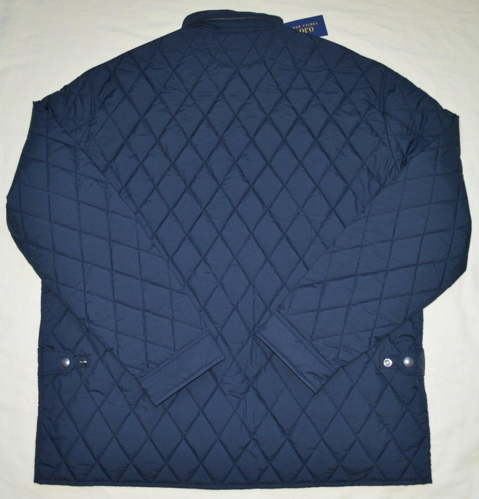 Big & Quilted coat Navy 2XT