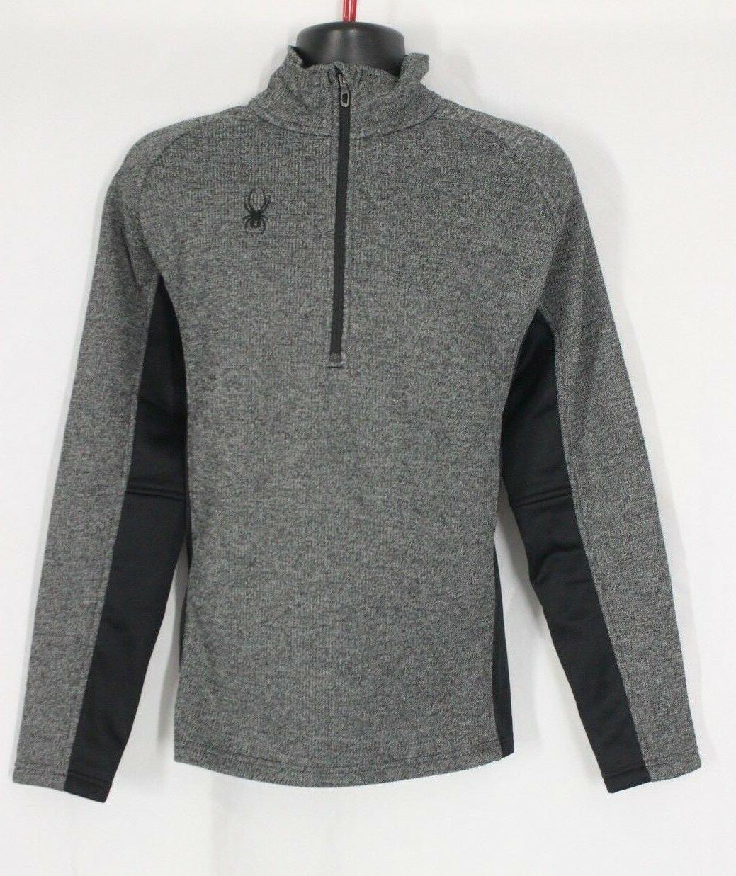 NEW Men's SPYDER Half Core Grey Green