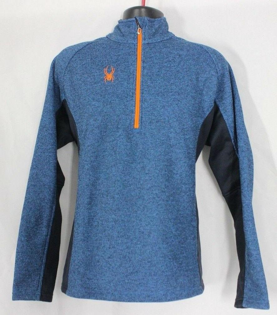 NEW Men's Outbound Half Sweater Core Black Blue Green