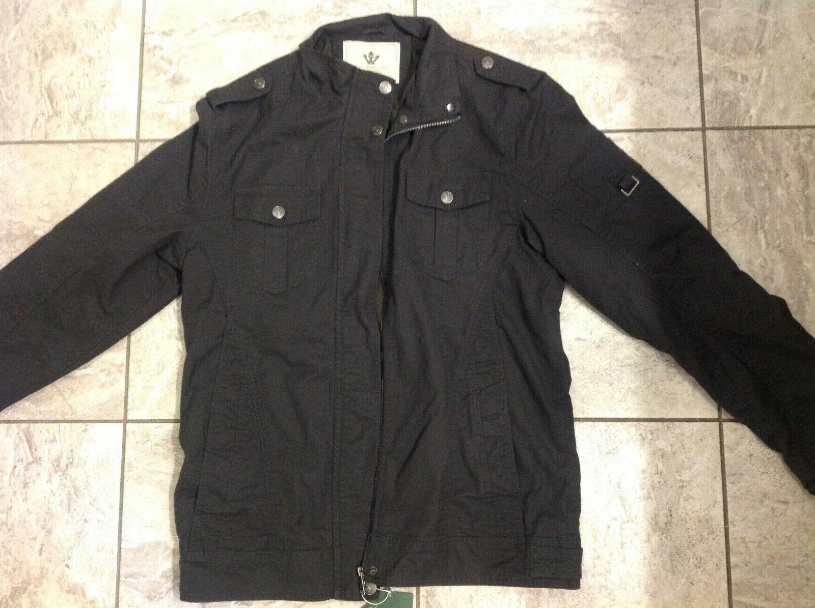New with Men's Casual Cotton Jacket,