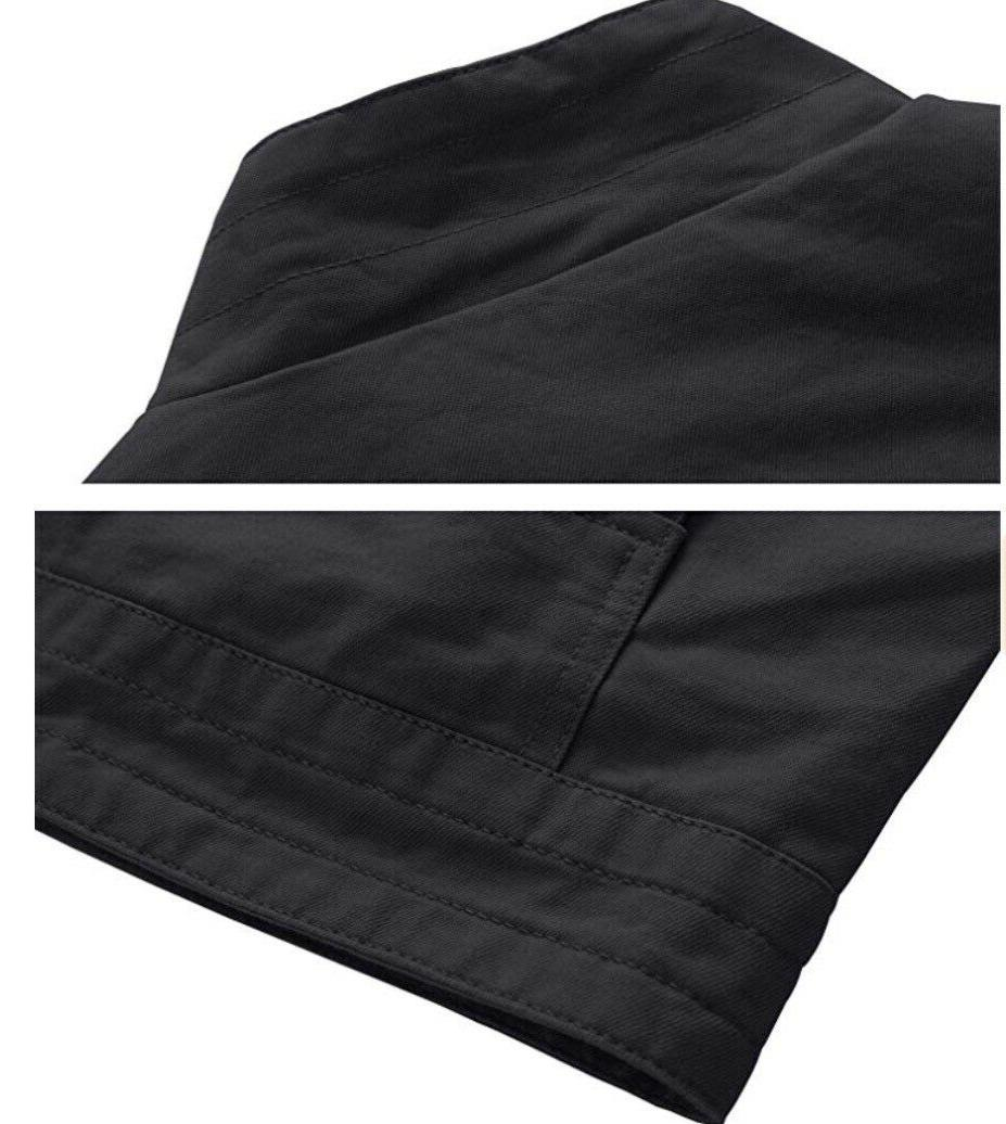 Men's Military Jacket, Gray