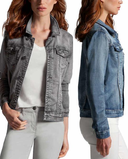 NEW!! Buffalo Women's Knit Denim Jackets Variety