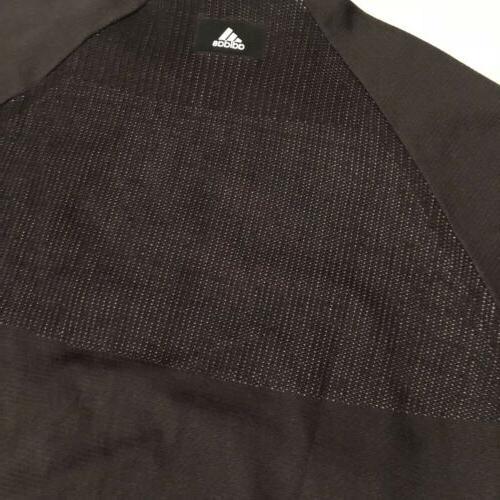 NWT ADIDAS ID Large Knit Black/White Jacket CF0334