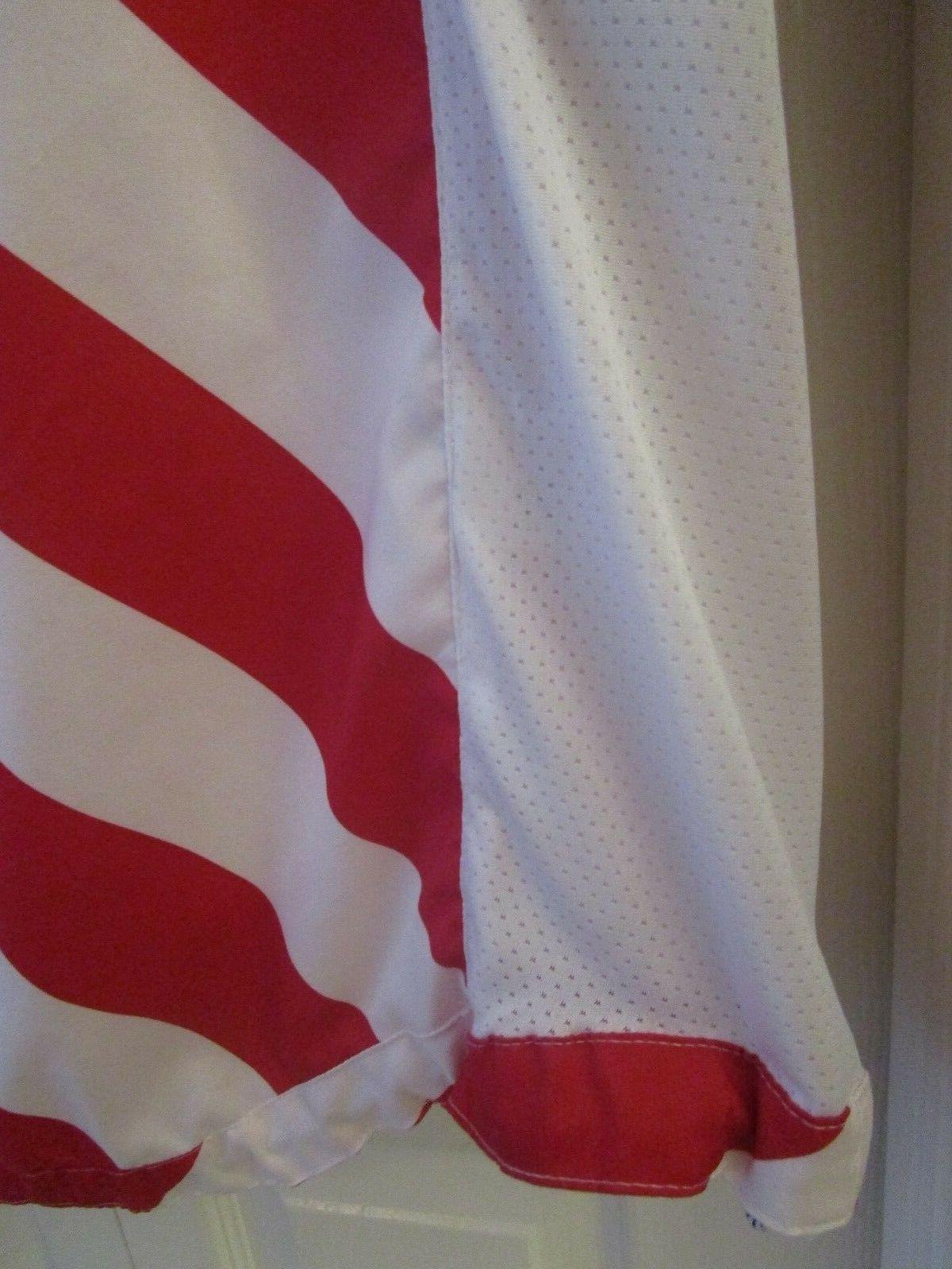 & Flag Hoodie Windbreaker Red White Blue