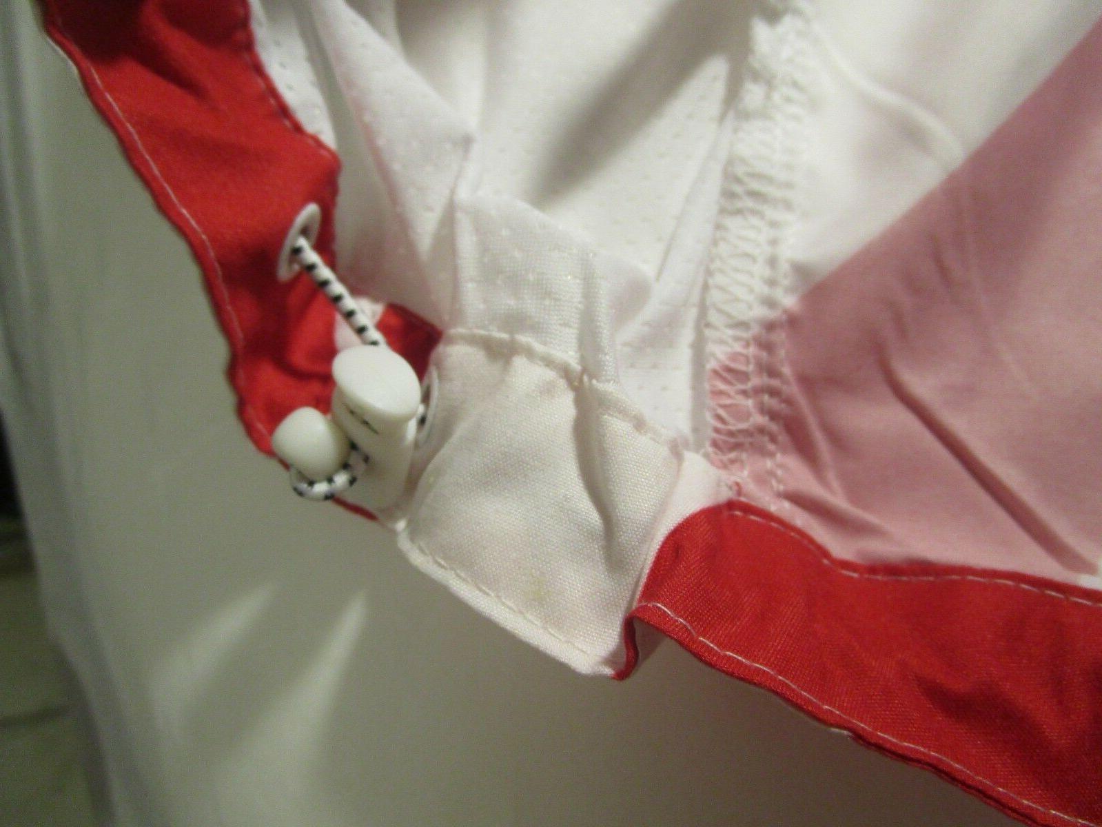 NWT Big & USA Flag Hoodie Windbreaker Jacket Red White Blue