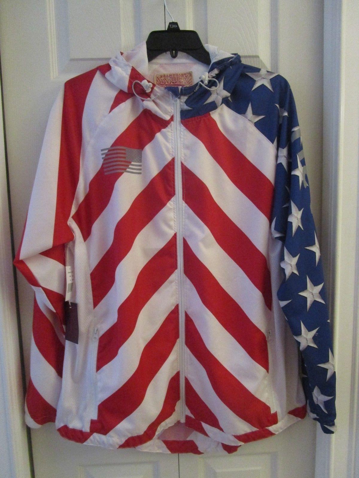 nwt big and tall usa flag hoodie